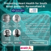 AVATR Promoting Heart Health for South Asian patients: Personalised AI