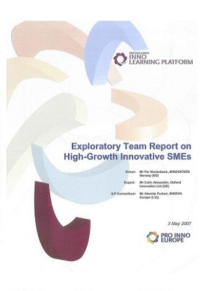 """Exploratory Team report on High-Growth Innovative SMEs"""